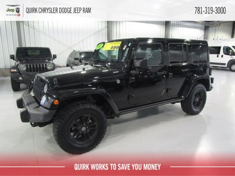 Pre-Owned 2017 Jeep Wrangler Unlimited Winter