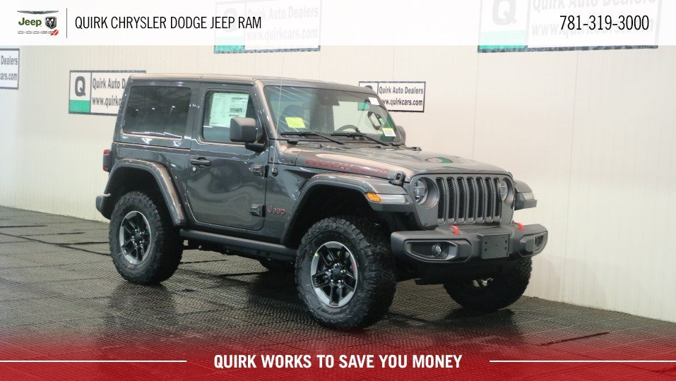 New 2019 Jeep Wrangler Rubicon Sport Utility In Marshfield D9219