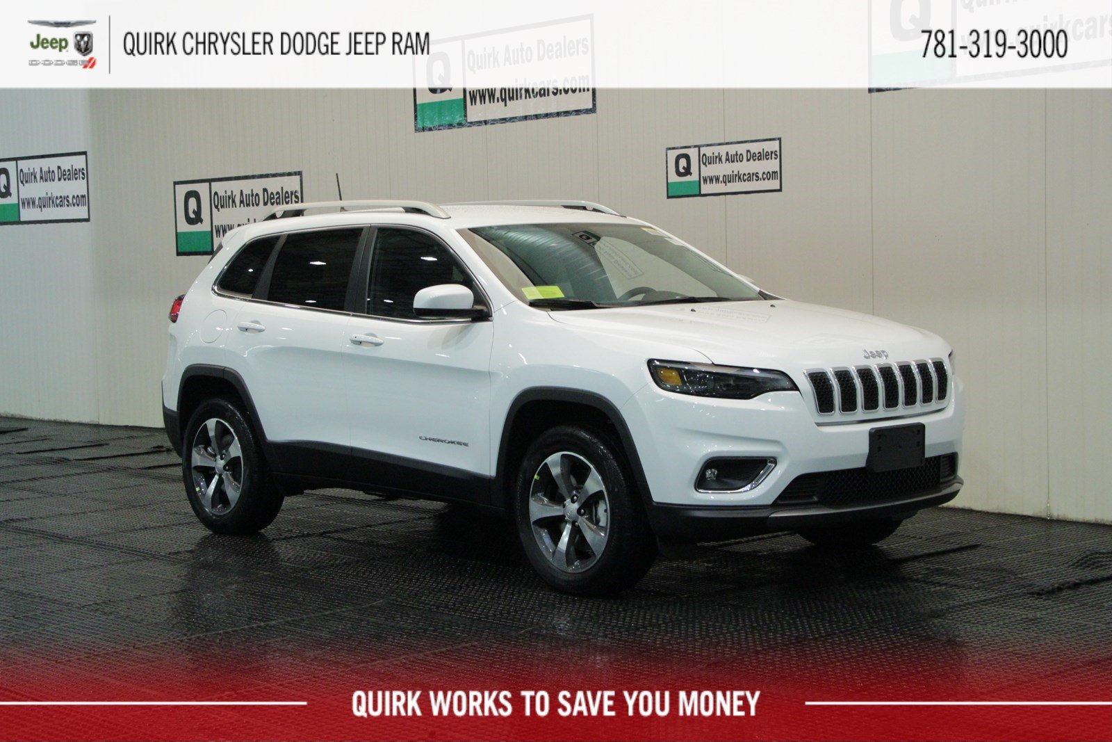 New 2019 Jeep Cherokee Limited Sport Utility In Marshfield D9294