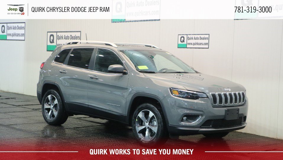 New 2019 Jeep Cherokee Limited Sport Utility In Marshfield D9257