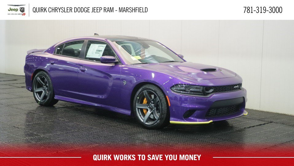 Dodge Charger Srt >> New 2019 Dodge Charger Srt Hellcat Sedan In Marshfield D8978