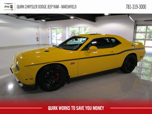 Pre Owned 2012 Dodge Challenger Srt8 392 Yellow Jacket 2dr Car In