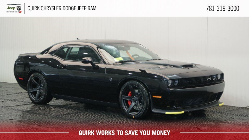 New 2018 Dodge Challenger Srt Hellcat Coupe In Marshfield D7968
