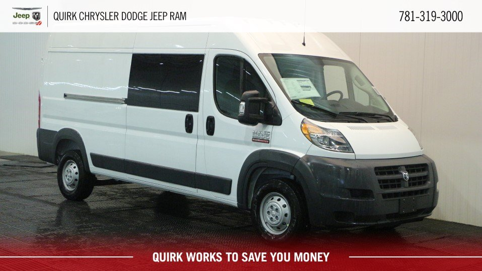 New 2018 RAM ProMaster BASE