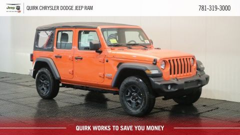 2018 Jeep Wrangler UNLIMITED JL SPORT 4X4
